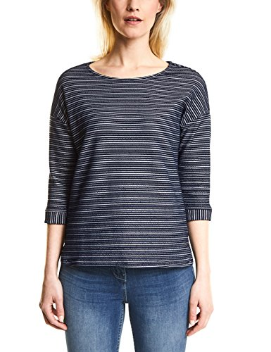 Cecil Damen 300591 Sweatshirt, deep Blue, XX-Large
