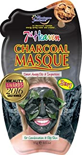 7th Heaven Facial Masks (Pack of 12, Charcoal Masque .5 oz)