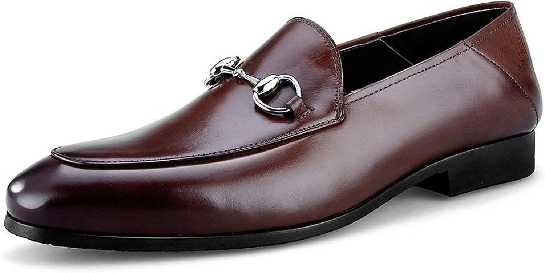 WWJDXZ Beilufige lederne Schuhe der Frühlings-Mnner Schuhe Geschfts-formelle Kleidung mnnliche Formale Schuhe, die Schuhe Wedding sind beilufig