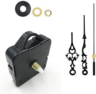 Clock Replacement Movement,Sageme High Torque Clock Motor Movement Battery Operated Battery Clock DIY Parts Replacement Mechanism Shaft Length 17mm(43/64 inch),Thread Length 9.5mm (3/8 inch)