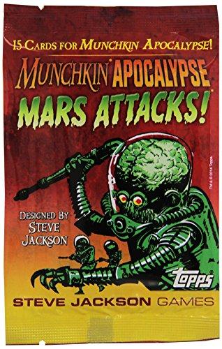 Steve Jackson Games 4236 - Munchkin Apocalypse: Mars Attacks Booster, Gioco di Carte