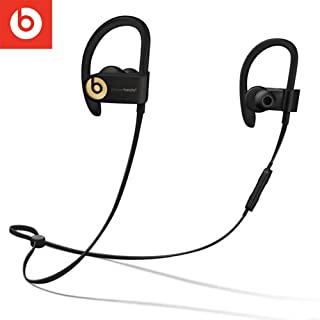 Beats Powerbeats 3 Wireless Earphones 99 New Stereo In-line Volume Control with Carrying Case Secure-fit Earhooks BT Sport Earpieces Sweat Water Resistant
