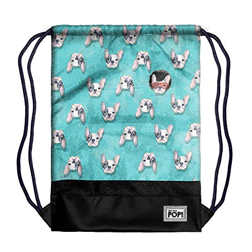 Oh My Pop! Oh My Pop! Doggy-Storm Turnbeutel Bolsa de Cuerdas para el Gimnasio 48 Centimeters Multicolor (Multicolour)