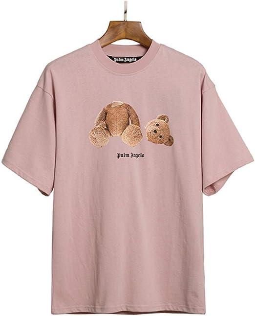 PALM  ANGELS Unisex Short Sleeve T-Shirt Palm Angel Loose men Casual Shirts NEW