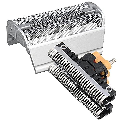 31B/31S Papel de repuesto y cortador de casete compatible con Braun Shaver Old Generation Series 3 350 360 Series 5000 6000 5005, 5311, 5312, 5315, 5416, 6512, 6515 (31B)