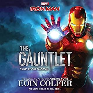 Iron Man: The Gauntlet audiobook cover art
