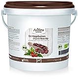 Rosa mosqueta orgánica para caballos 1 kg de AniForte - frutos secos enteros, vitamina C, cultivo orgánico y natural de primera calidad, sin gluten