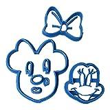 Cuticuter Minnie - Taglierina per Fondente, Blu, 8 x 7 x 1,5 cm