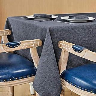 Nappe Antitaches Rectangulaire Etanche Imperméable Anti Taches Proof Résistant 140 x 240 cm pour Table Salle à Manger