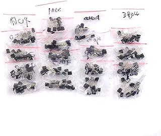 مجموعة تشكيلة ترانزيستور 18 قطعة TO-92 S9012 S9013 S9014 S9015 S9018 A1015 C1815 A42 A92 2N5401 2N551 A733 C945