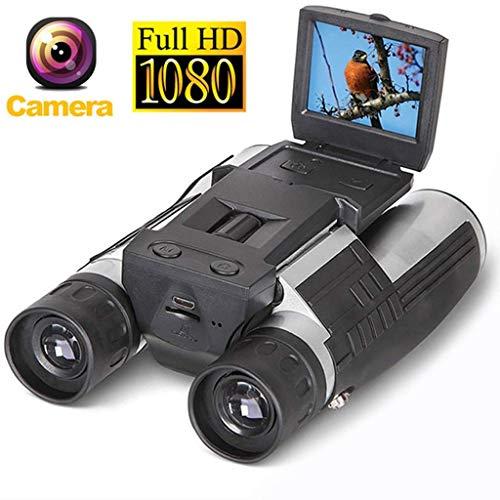 NO BRAND Telescopio Binocular cámara HD 1080P Negro
