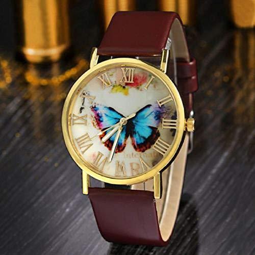QWRjj Reloj de Pulsera Moda Mujer Vestido Pulsera Reloj Quar