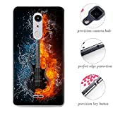 Frlife Case for Alcatel A3 XL Smartphone, Colorful Painting