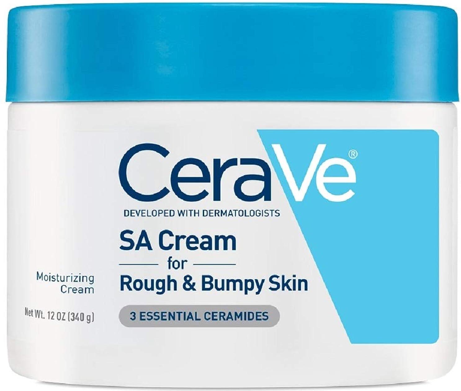 うねるこしょう忠実な海外直送品Cerave CeraVe Renewing SA Cream, 12 oz