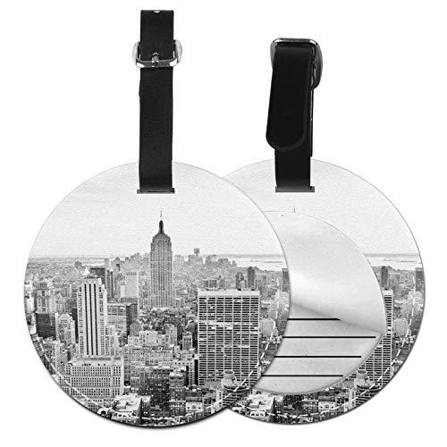 Etiquetas para Equipaje Bolso ID Tag Viaje Bolso De La Maleta Identifier Las Etiquetas Maletas Viaje Luggage ID Tag para Maletas Equipaje Nueva York 9