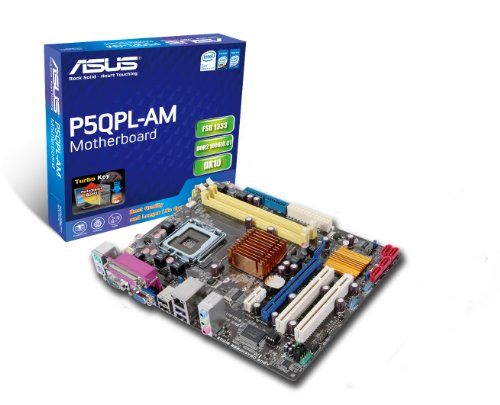 Asus P5QPL-AM Scheda Madre - Socket LGA 775 - Intel G41