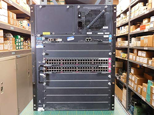 Guaranteed - Cisco Systems Catalyst 4510R with WS-X4515 Supervisor & WS-X4148-RJ