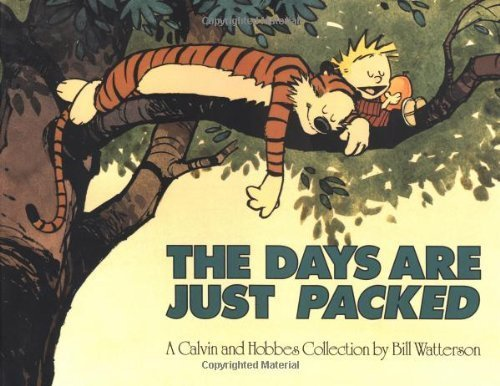 (The Days Are Just Packed) BY (Watterson, Bill) on 1993