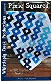 Pixie Squares Quilt Pattern No. 1242 by Whistlepig Creek, Jelly Roll...
