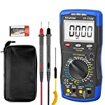 Digital Multimeter,Infurider YF-770M 6000 Counts Manual and Auto Range AC/DC Voltage Amp Ohmmeter Tester Meter with Diode Continuity,Cap,Temp and Mechanical Protection