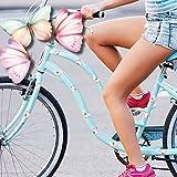 Wandtattoo Loft Fahrradaufkleber 32 STK. Pastell Schmetterlinge Rosa Fahrrad Sticker Fahrraddesign Kinderfahrrad