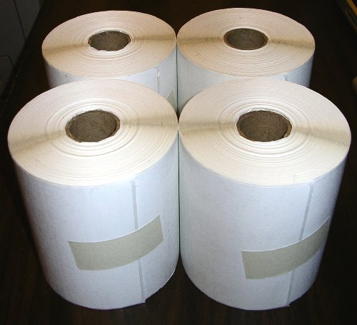 Price comparison product image The Bargain Shack 4 Rolls - Direct Thermal 4 x 6 Labels,  1000 Total,  for Zebra,  Eltron,  and Samsung Printers