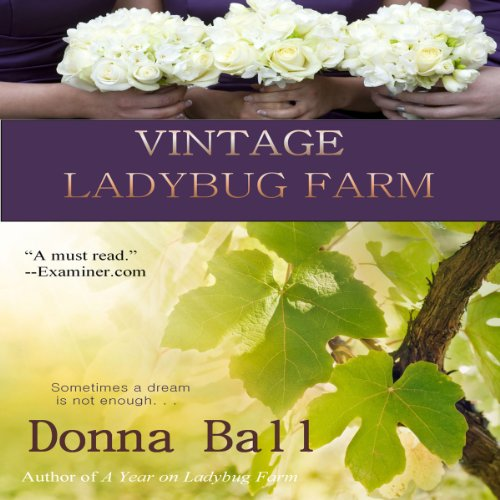 Vintage Ladybug Farm audiobook cover art