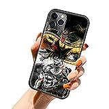 FUTURECASE Dragon Ball iPhone 13 Pro Max, iPhone 13 Pro Max Case Dragon Ball, Anime Dragon Ball funda para teléfono iPhone 13 Pro Max Dragonball Vegeta funda suave (2, iPhone 13 Pro Max)