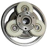 Engranaje 1 Set 36T Gear Diámetro: 38 mm Espesor: 12 mm + Anillo de alta velocidad del motor eléctrico de nylon y Protección de Equipos + Embrague engranaje impulsor