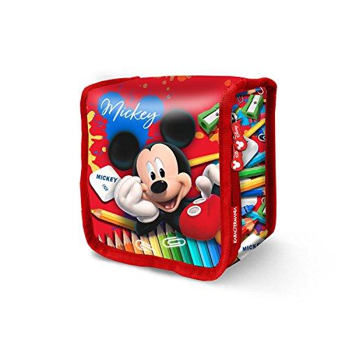 Karactermania Mickey Mouse Crayons-Sac à Pique-Nique Thermique schooltas, 15 cm, rood (rood)