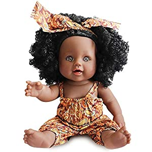 Choose this black doll to accompany your kids, play with them together, sleep with them together. Besides, they can dress the doll up according their preferences. You know, In the kids' world, that is everything. ❤Fashion And Cute Girl Doll - She is ...