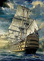 ジグソーパズル 300/500/1000ピース 大航海時代の船に乗って新世界へアドベンチャー