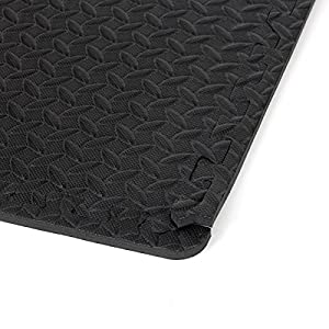 Polly House EVA Foam Interlocking Tiles, Multi-Purposes Puzzle Exercise Mat, Protective Flooring for Gym or Heavy Equipment and Cushion for Workouts
