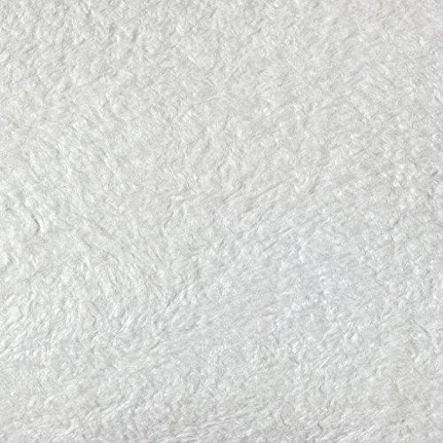 SILK PLASTER Art Design 253 Dekorputz Flüssigtapete Rauhfaser-Alternative Tapete weiß Baumwollputz