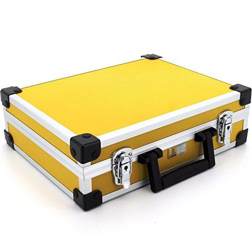 allit 424140 Utensilien-Koffer AluPlus Basic, GrӇe: L, gelb