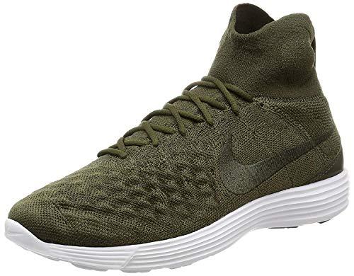 Nike Lunar Magista II Flyknit Schuhe Herren Sneaker Turnschuhe Grün 852614 300, Größenauswahl:41
