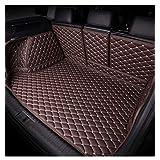 トランクマットレザートヨタプリウスC-アクア2012〜2014カートレイカーペットマッドにフルセットフィット,ブラウン