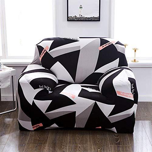 Cubierta de sofá duradera y fácil de limpiar Cubierta del sofá, cubierta del sillón Cubierta de sofá elástica de algodón Sofá Sofá de algodón para sala de estar COPRIDIVANO Slighcover para una sola cu