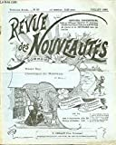 REVUE DES NOUVEAUTES N°50 / JUILLET - NOTRE BUT / CHRONIQUE DU NOUVEAU / NOUVEAU PORTE-PANTALON / EVENTAIL...