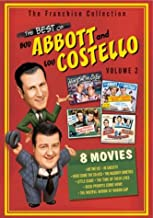 The Best of Abbott & Costello - Volume 2 (Hit the Ice / In Society / Here Come the Co-Eds / The Naughty Nineties / Little Giant / and more)