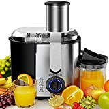 Monzana Juicer Centrifugal 1100W Fruit Juicers Extractor for Whole Fruit and Vegetable Easy