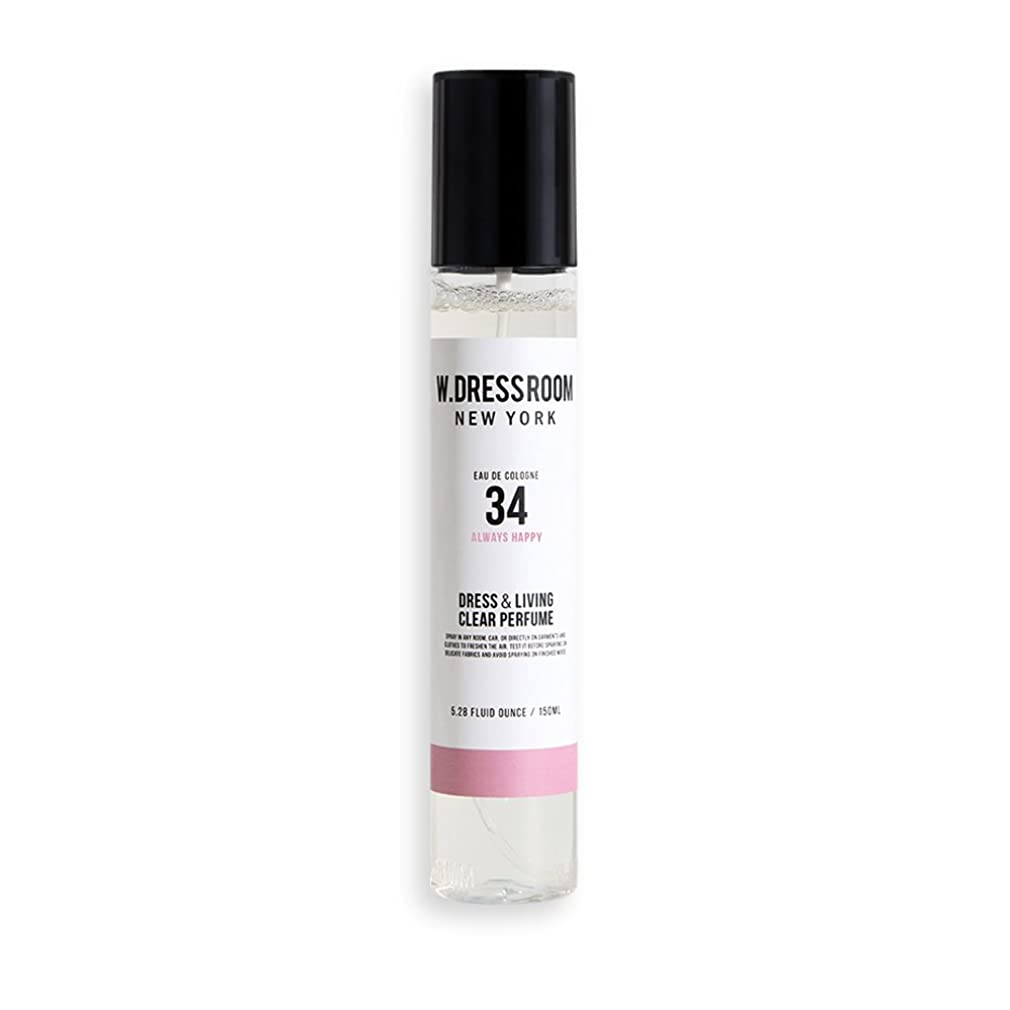 人質退化する国w Dressroom Perfumes Air Freshenersホームフレグランススプレー150?ml [ 34。Always Happy ]