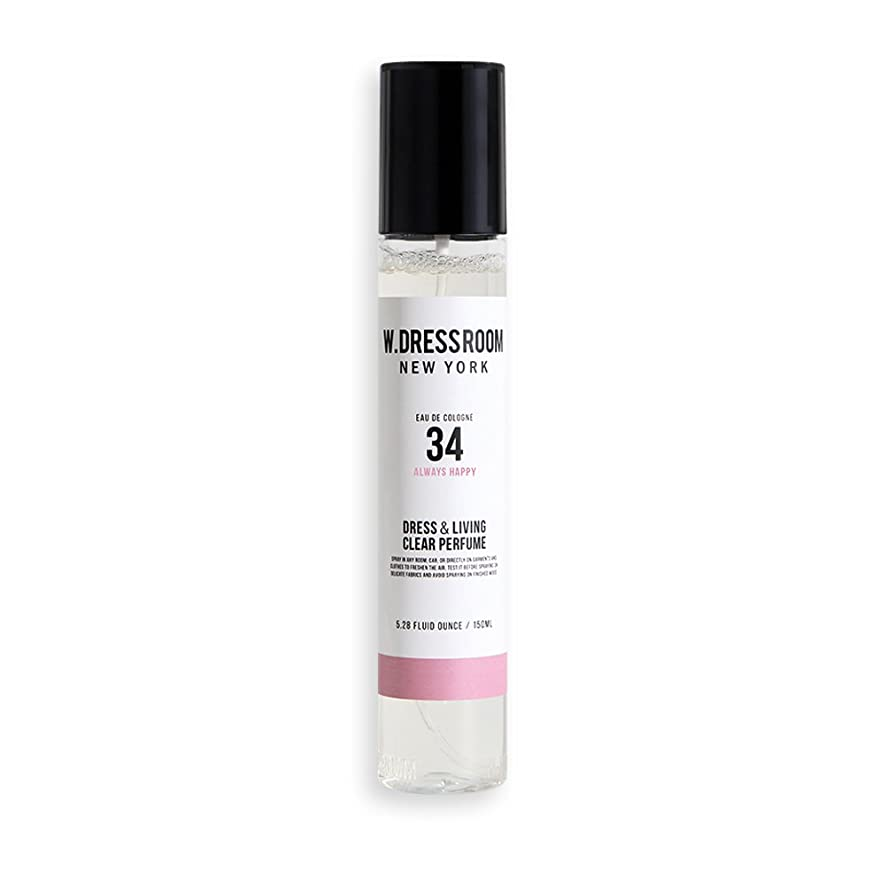 食品充電くすぐったいw Dressroom Perfumes Air Freshenersホームフレグランススプレー150?ml [ 34。Always Happy ]