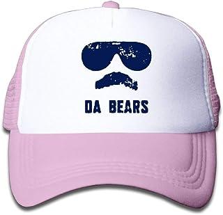 DD Decorative Da Bears Ditka Funny Joke Adjustable Snapback Hat Summer Sport Hat For Toddler One Size Fits Most