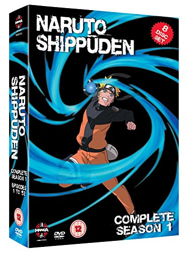 Naruto Shippuden - Series 1 [DVD] [2007] [Reino Unido]