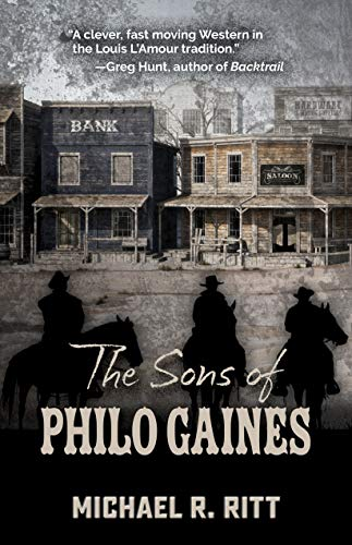 Image of The Sons of Philo Gaines (Five Star Western Series)