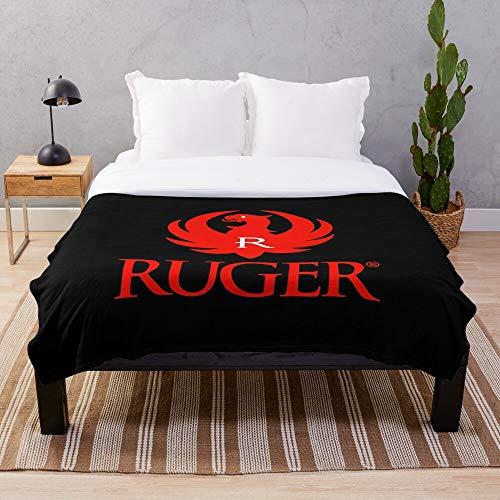 Ruger Logo Sweater Stuff I Top Selling- Blankets Fleece - Sherpa - Woven Printed Lightweight Microfiber Bedding/Sofa Blanket- Customize