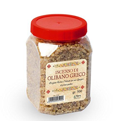 LibreriadelSanto.it Incenso profumato di olibano Greco - Peso 500 g