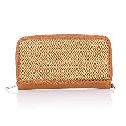 brown thirty one cash envelope wallet