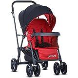 Joovy Caboose Graphite Stand On Tandem Stroller, Red